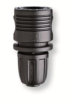 "Claber 91009 - automatická spojka 1/2"" pevné připo - 1"
