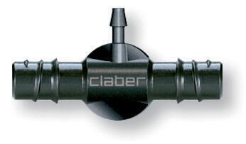 """Claber 91073 - 1/2""""-1/4"""" T kus - 2 ks v balení - 1"""