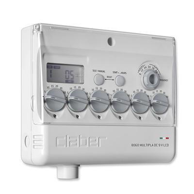 Claber 8060 - Multipla, 6 zónová řídící jednotka 9 - 1
