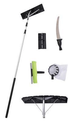 HECHT 631 SET - teleskopická lopata na sníh - 1