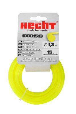 HECHT 10001513 - struna kulatá 1,3 mm x 15 m - 1