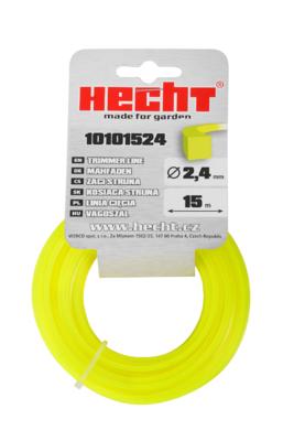 HECHT 10101524 - struna čtvercová 2,4 mm x 15 m - 1