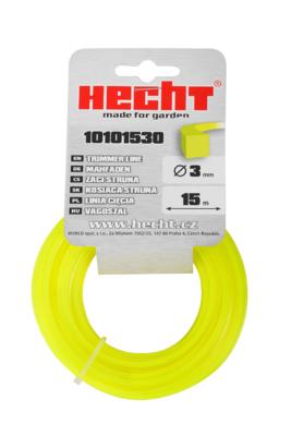 HECHT 10101530 - struna čtvercová 3 mm x 15 m - 1
