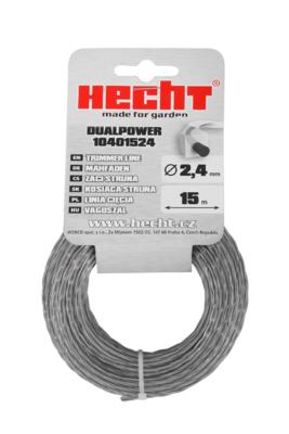 HECHT 10401524 - struna čtvercová 2,4 mm x 15 m - 1