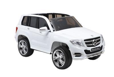 MERCEDES BENZ GLK - CLASS - WHITE - dětské autíčko - 1