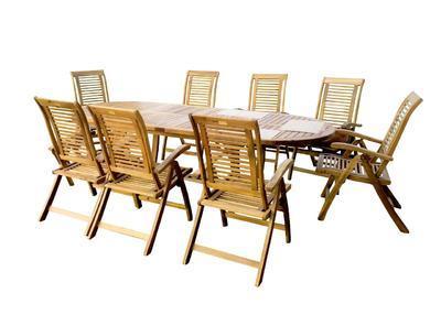 HECHT ROYAL SET - set zahradního nábytku - 1