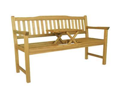 HECHT TABLE BENCH - zahradní lavice - 1