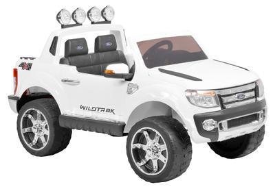 FORD RANGER WHITE - akumulátorové autíčko - vozítk - 1