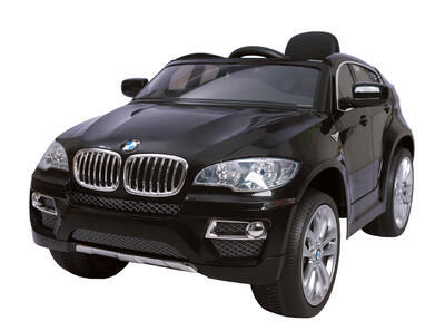 BMW X6 - BLACK - akumulátorové autíčko - vozítko - 1