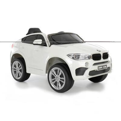 BMW X6 - WHITE - akumulátorové autíčko - vozítko - 1