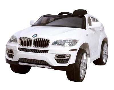 dětské autíčko - bmw x6 - bílá - 1