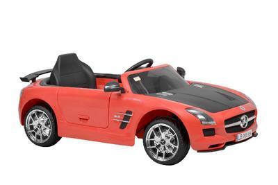MERCEDES BENZ SLS-AMG RED - akumulátorové autíčko  - 1