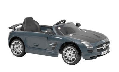 MERCEDES BENZ SLS-AMG GREY - akumulátorové autíčko - 1