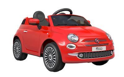 FIAT 500 - RED - akumulátorové autíčko - vozítko - 1