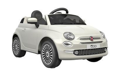 FIAT 500 - WHITE - akumulátorové autíčko - vozítko - 1