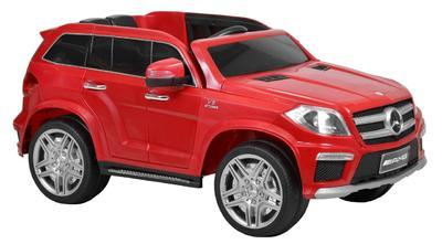 MERCEDES BENZ GL63 RED - akumulátorové autíčko - v - 1