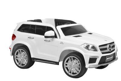 MERCEDES BENZ GL63 WHITE - akumulátorové autíčko - - 1