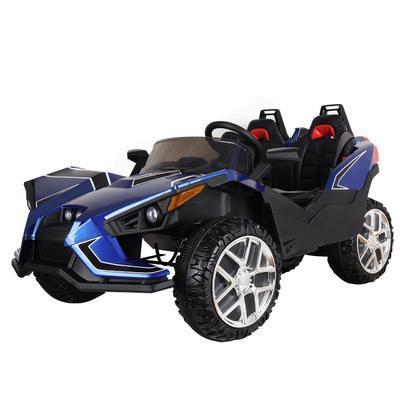 HECHT 58888  BLUE - akumulátorové autíčko - vozítk - 1