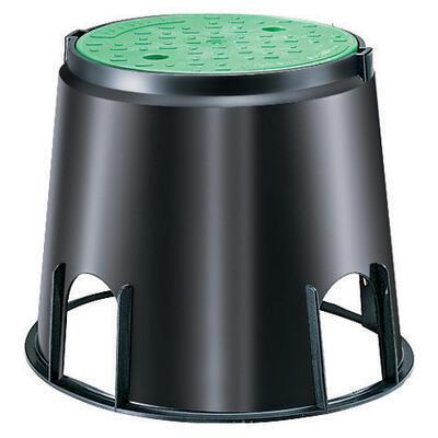 Claber 90500 - kruhová šachta pro 1 solenoidní ven - 2
