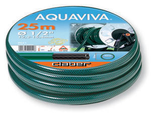 "Claber 9051 - zahradní hadice Aquaviva 1/2"" - 25m - 2"