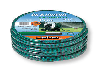 "Claber 9052 - zahradní hadice Aquaviva 1/2"" - 15m - 2"