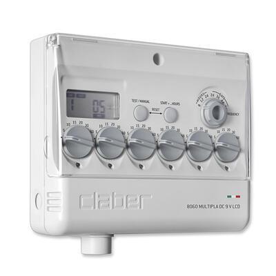 Claber 8060 - Multipla, 6 zónová řídící jednotka 9 - 2