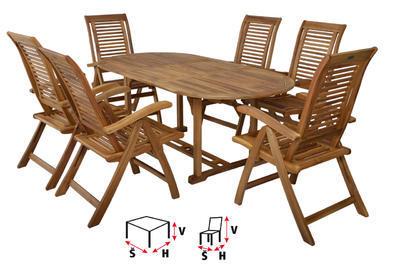 HECHT CAMBERET SET - set zahradního nábytku - 2