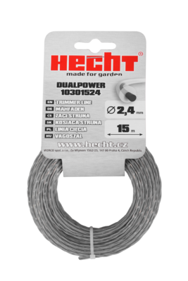 HECHT 10301524 - struna kulatá 2,4 mm x 15 m - 2