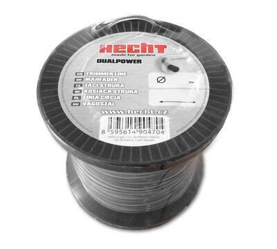 HECHT 10434524 - struna čtvercová 2,4 mm x 345 m - 2