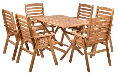 HECHT NARROW SET - set zahradního nábytku - 2