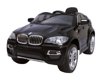 BMW X6 - BLACK - akumulátorové autíčko - vozítko - 2