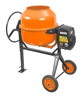 stavební míchačka 1050W + 200L + round handle + 10 - 2