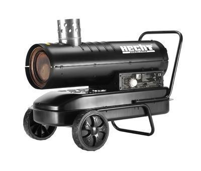 HECHT 3040 - naftová horkovzdušná turbína - 2
